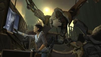 Source Engine в действии: сцена из Half-Life 2 Episode One